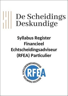 Syllabus RFEA Particulier 2021