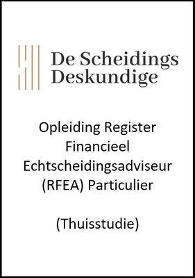 Opleiding Register Financieel Echtscheidingsadviseur particulier (RFEA) (Thuisstudie)