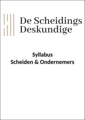 Syllabus Scheiden & Ondernemers