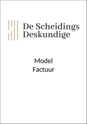 Modelfactuur