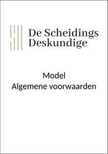 Model Algemene voorwaarden