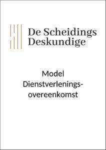 Model Dienstverleningsovereenkomst